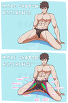 References: Male Crotch Reference by DizzyT