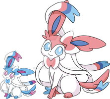700 - Sylveon - Art v.4 by Tails19950