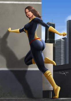 Commission: Kitty Pryde by iurypadilha