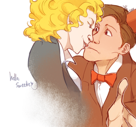 Doctor Who: Hello Sweetie by ky-nim