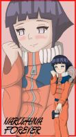 Hinata in Naruto's Outfit by TharenStorm