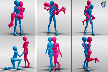 Couple Pose Pack X1 - Download by XXSefa