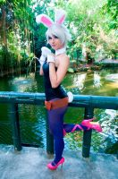 Battle Bunny Riven Cosplay by DyChanCos