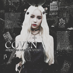 Jinsoul : AHS Coven by hellllkm1