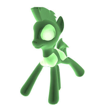 Green Virus by KittyCutieMeow