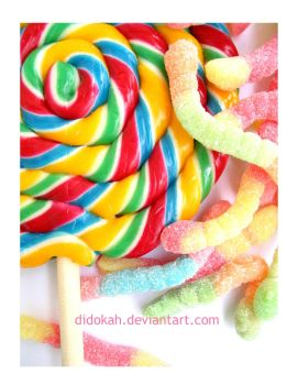 Colorful Like Candy by didokah