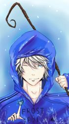 Sketch this Challenge Jack Frost by G4B2TER