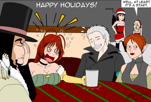 74 Failed Double Date Gift for cyberpunksamm by SailorEnergy