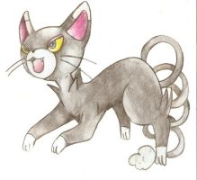 Glameow by Nid15