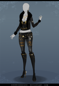(closed) Auction Adopt - Outfit 619 by CherrysDesigns