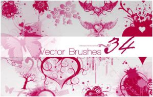 Vector Brushes by sickatheart