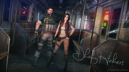 Chris and Helena - Resident Evil 6 by JhonyHebert