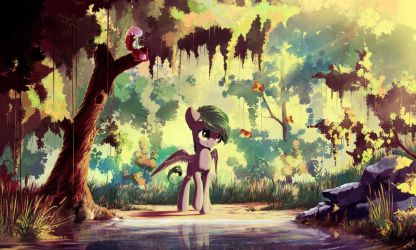 Once in forest by freeedon