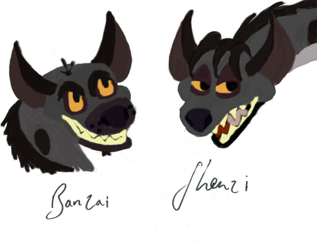 Hyena Headshots by SLRLoves9