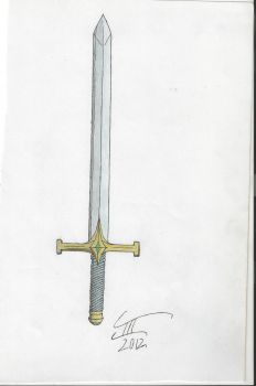 Long sword-Claymore concept by wapond