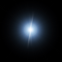 High Quality Lens Flares in PNG 01 by genivaldosouza