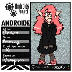 Ficha Androide-0050 by The-Miss-Bunny-Cat