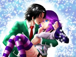 Under the Snow Mizore X Gin by huxne123
