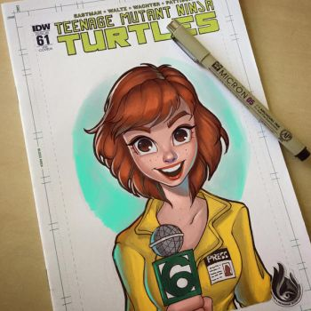 April O'Neil by ChrissieZullo
