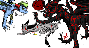 .:Iscribble:. by Dragonaxxx