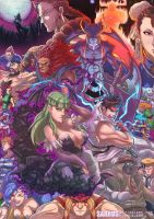 Street Fighter vs Darkstalkers by sarrus
