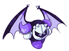 Emo, and Gay! -Meta knight by spiritphone