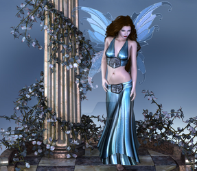 Blue Fairy by Angelic-Artwork