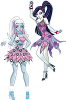 Abbey y Spectra Dot Dead Gorgeous by sparks220stars