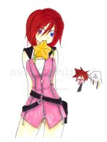 Kairi tease by mell0w-m1nded