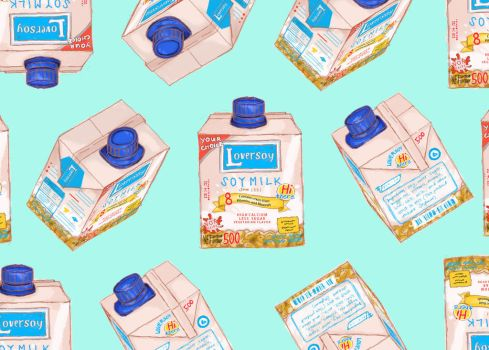 loversoy milk drink by ChanKei