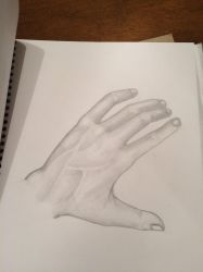My hand by Kat305