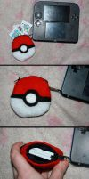 Pokeball Game Pouch