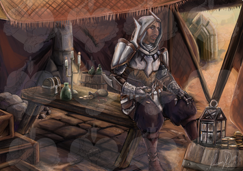 Crassius -DragonAge (commission for RadPuppeteer) by CapnInsanity