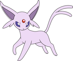 Vector #272 - Espeon by DashieSparkle
