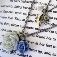 Cinderella Necklace by instantpudding