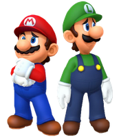 Mario and Luigi (MP10) 3 by Banjo2015