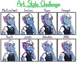 Art Style Challenge 2018! by Lazy-Sage