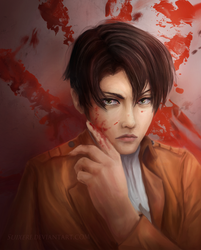 Captain Levi Ackerman by Suixere