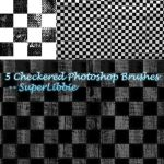 5 Checkered PS Brushes by superlibbie