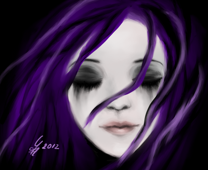 Drown in purple by Sylpheah