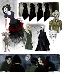 Deathly Hallows characters 5 by Sally-Avernier