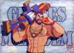 Super Pool party Graves +LoL+ by leomon32