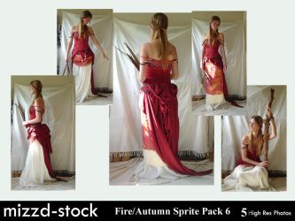 Fire+Autumn Sprite Pack 6 by mizzd-stock