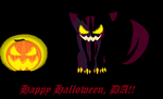 Happy Halloween Deviantart by cheshire-cat-tamer