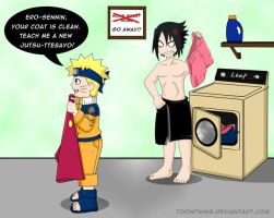 Laundry Mishap by ToonTwins