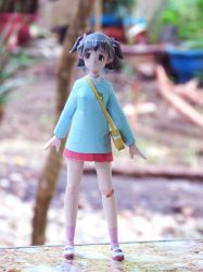 Akagi Miria Idolm@ster Paper craft 3 by epeldoll