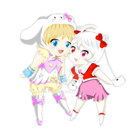 .:UTAU:. Shina Moroll + Kitty Kokone by A-Daiya