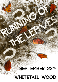 Running of the leaves poster by Skeptic-Mousey