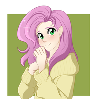 Fluttershy by Apple-Cake