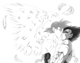 I'm your guardian angel... by Freewolf7